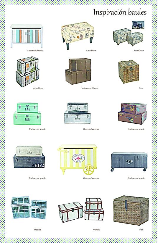 Mi selección de baúles y maletines