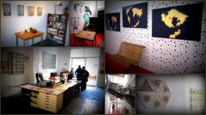 Estudio Estándar y Sala Russafa, ambos en la calle Dénia, y sus respectivas exposiciones