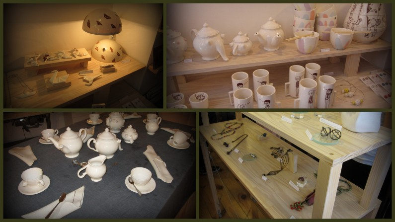 Tienda Sense Fi, cerámica y joyas hechas a mano.