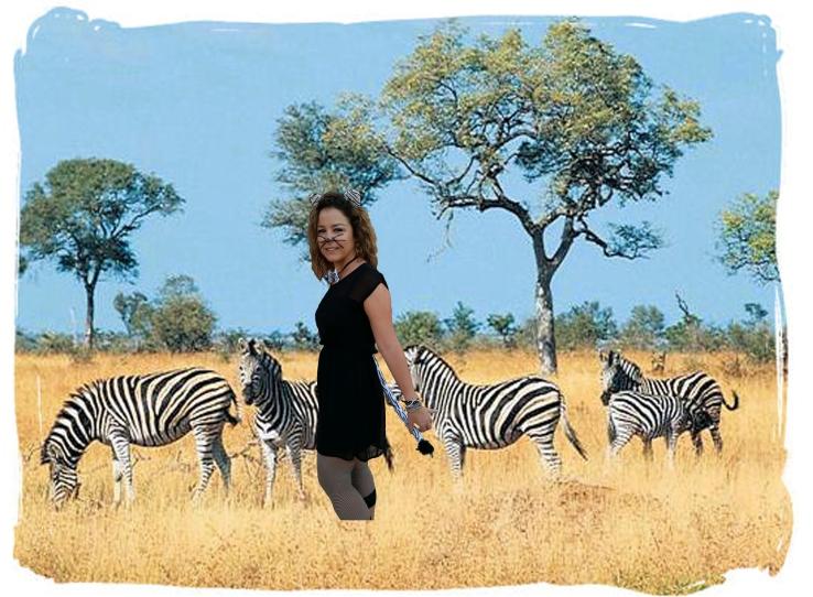 Gema en la savana africana.