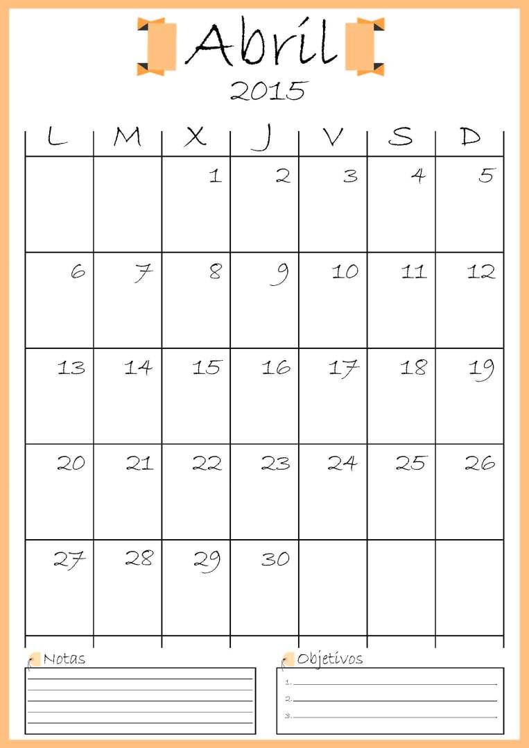 calendario abril addarq