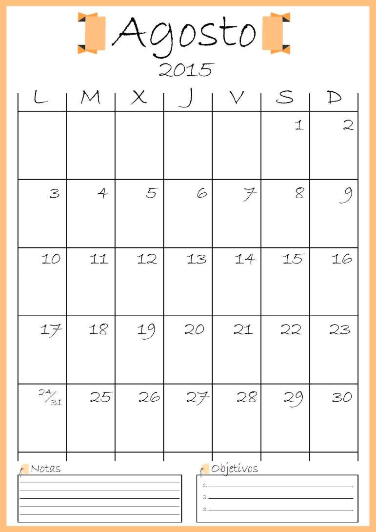 calendario agosto addarq