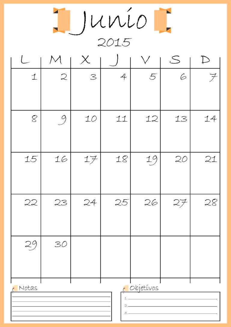calendario junio addarq