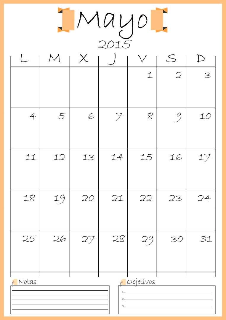 calendario mayo addarq