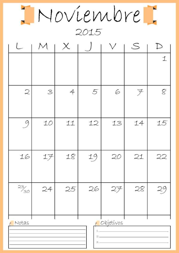 calendario noviembre addarq