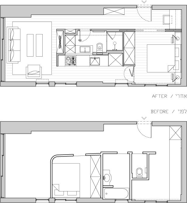 small&low cost addarq - apartamento en tel aviv (1)